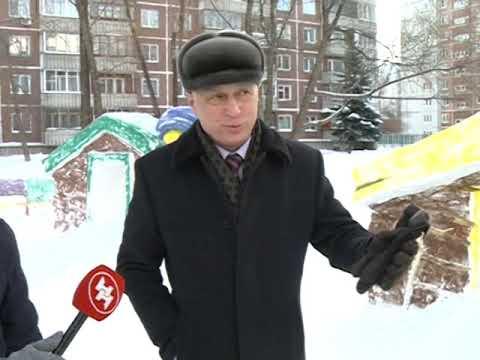 Лучший снежный городок Новосибирска стоит полмиллиона рублей