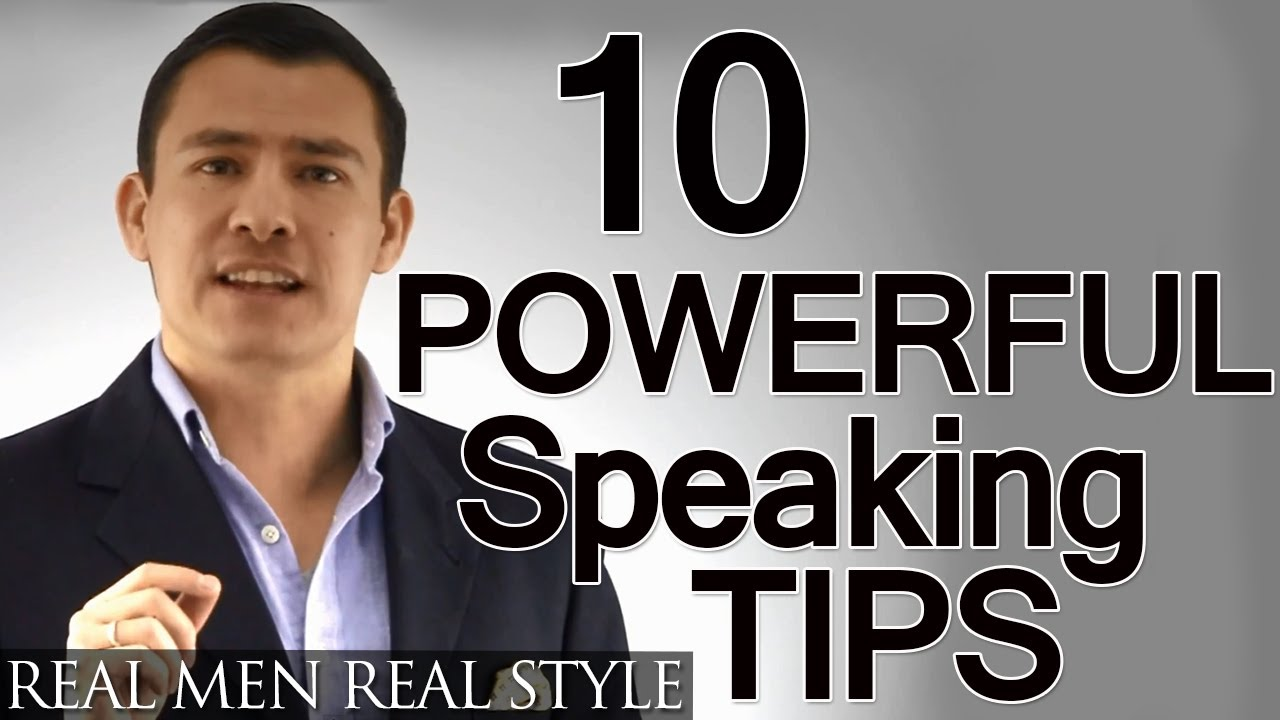 10 Speaking Tips Advanced Presentation Advice How To Give A