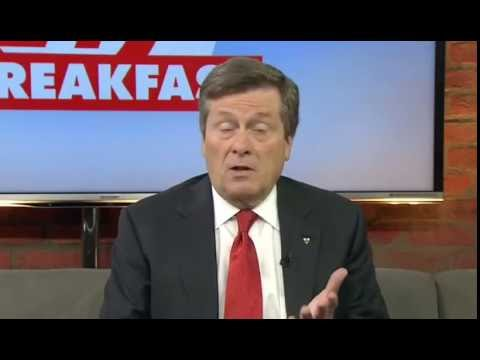 Interview #3 John Tory on Toronto Violence - June 9, 2016