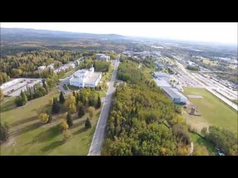 UAF, University of Alaska Fairbanks, drone flight