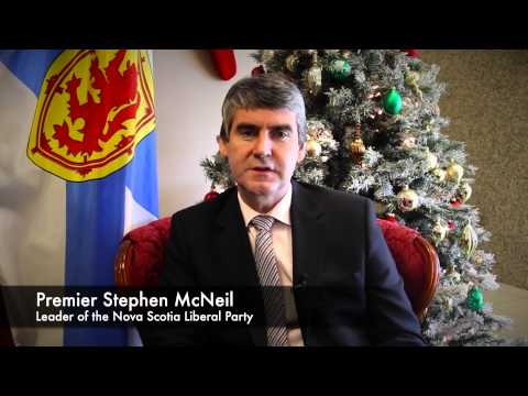 Holiday Message to Members of the Nova Scotia Liberal Party - Premier Stephen McNeil