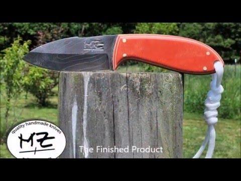 Making Paper Micarta for Custom Knife