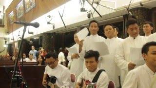 "Seminari Tinggi Kentungan (cover lagu ""Tuhan Sumber Gembiraku"")"
