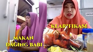Download Video Viral,TKW Berhijab Makan Daging Babi Ahirnya Klarifikasi MP3 3GP MP4
