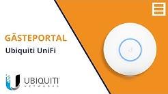 Ubiquiti UniFi Gästeportal einrichten (mit Voucher)