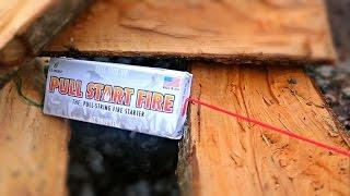 Pull String Fire Starter -