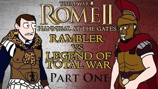 Total War: Rome 2 - Hannibal at the Gates - Carthage v Rome w/Legend of Total War!