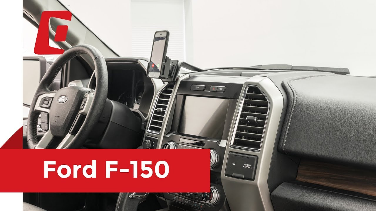 Ford F 150 2017 >> ProClip USA Center Mount 2015 - 2018 Ford F-150 855093 - YouTube