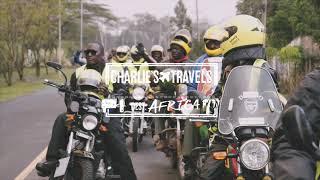 Uitgaan en op motortour door Nairobi!