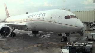 UNITED Boeing 787 seat review