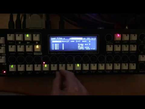 Sequentix Cirklon and Breakbeats on the Kurzweil K2600r Sampler.