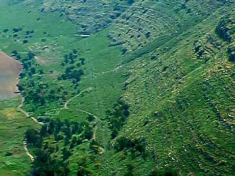 Paragliding on the Gilboa area. Parapente sobre o Monte Gilboa na Terra Santa, Israel I