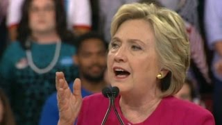 Clinton touts what shed do in first 100 days