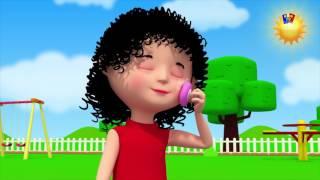 Пухлые щечки ямочка подбородке | детский стишок | Kids Song | Bob Train | Chubby Cheeks