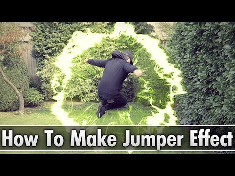 Vegas Pro 15: How To Make The Jumper Effect (Teleport) - Tutorial #243