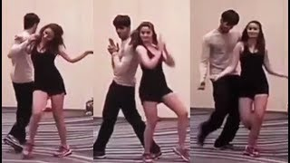 Alia Bhatt And Sidharth Malhotra Dance Practice Video