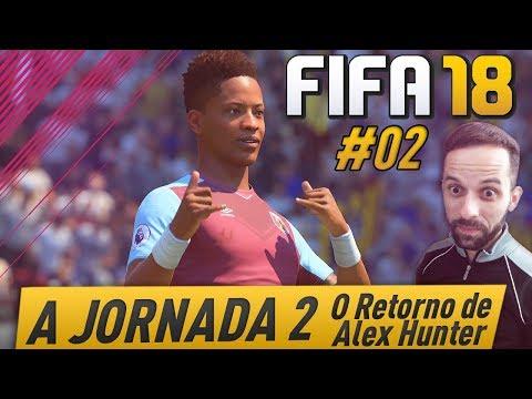 FIFA 18 A JORNADA 2 - DESTRUINDO NA PREMIER LEAGUE  #02 [DUBLADO EM PT-BR]
