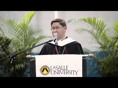 Cardinal Tagle Receives Honorary Degree from La Salle University