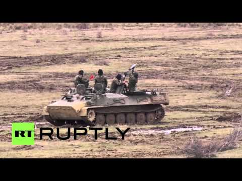 Bulgaria: US conduct live-fire military drills with Romania and Bulgaria