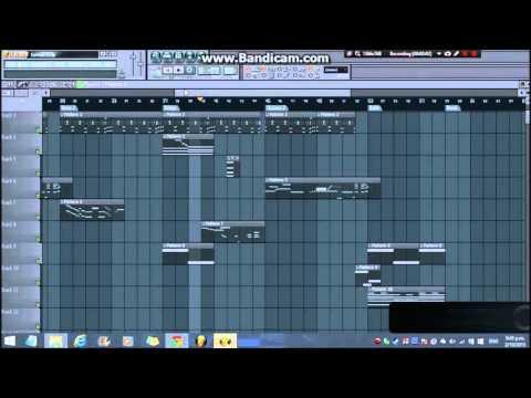 Earned it - The Weeknd (FL Studio remake)