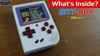 What's Inside The 300 In 1 BittBoy?