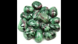 Healing Crystals Ruby Zoisite Information Video
