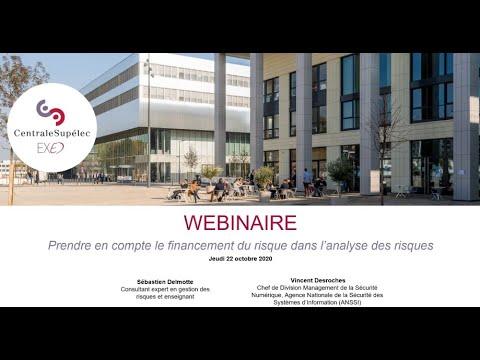 Conférence : Comment prendre en compte le financement du risque dans lanalyse des risques ?
