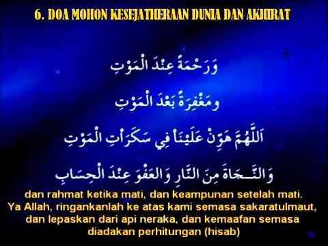 SHALAWAT dan doa agar mendapat keberkahan, Rahmat dan di jauhkan dari musibah.