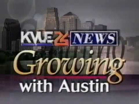 KVUE 24 News 1996 Growing with Austin Promo