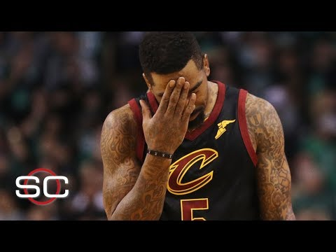 JR Smith dribbles away the Cleveland Cavaliers' shot to win Game 1 | SportsCenter | ESPN