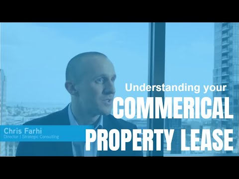 Understanding your commercial property lease - Episode 1