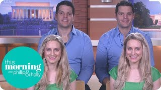 The Identical Twins Marrying Identical Twins! | This Morning