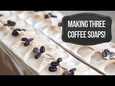 Part One: Making Three Coffee Soaps! | MO River Soap