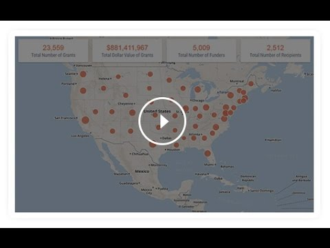 Foundation Maps for U.S. Veterans and Military Families