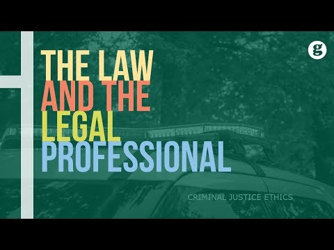 The Law and the Legal Professional
