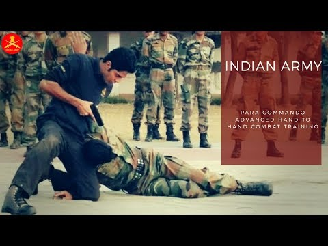 ▶Indian Army Para Commando Advanced Hand To Hand Combat Training 2018 (MUST WATCH)