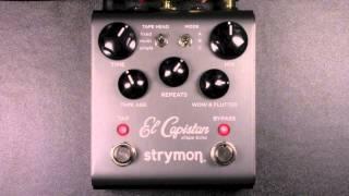 Strymon El Capistan dTape Echo Review - BestGuitarEffects.com