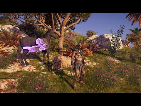 Assassin's Creed Odyssey kill Alpha animal White King Lion  