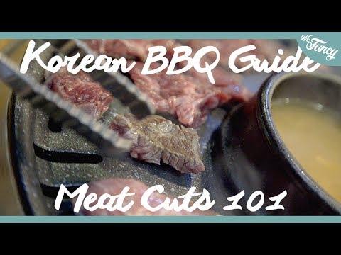 Ultimate Korean BBQ Guide! [MEAT CUTS 101]