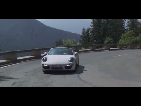 München - Garmisch A95 - Porsche 911 Carrera 4S (991)