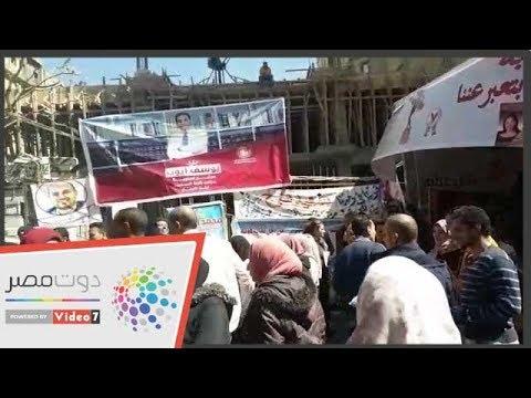 توافد الصحفيين لإجراء انتخابات التجديد النصفى للنقابة  - 10:54-2019 / 3 / 15