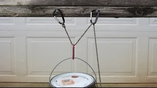 How to make a Simple Pulley System - Pulleys Simple Machines