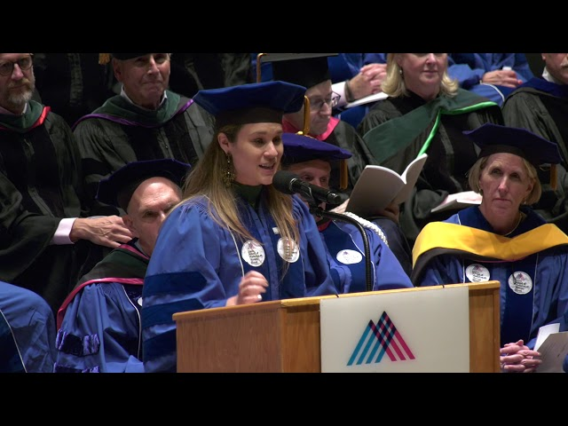 Catherine Crawford Addresses Fellow Graduates at 2019 Commencement