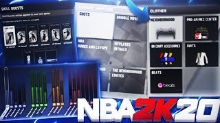 NBA 2K20 - NEW LEAKED SCREENSHOTS, 99 OVERALL SYSTEM + NEW BOOSTS & MORE! NBA 2K20 NEWS