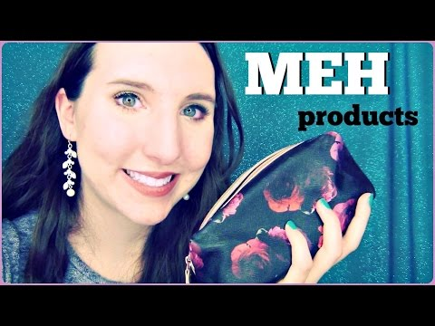 Makeup I Bring to Work | MEH, Okay Products and How I'll Use Them Up