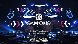 Sam One Dj Live At Amplitude Event (Light & Video Design By Ludovic Milien )