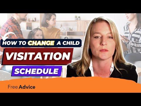 Child Visitation Schedule