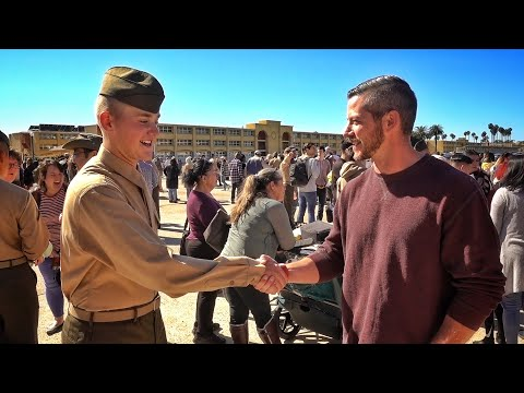 I Was Able To Make It!!! The Marines!