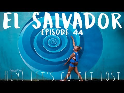 Hitchhiking El Salvador | SOLO FEMALE TRAVELER | Ep. 44 |  El Tunco