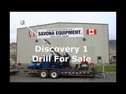 Discovery 1 Diamond Core Drill In Action! Exploration And Drilling Equipment
